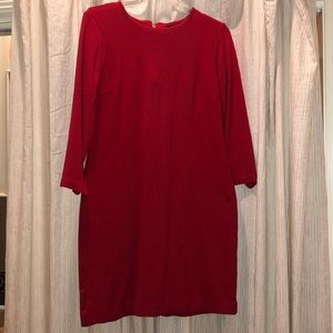 Red stretchy dress